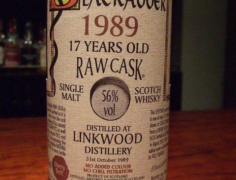 ブラッカダーロウカスク リンクウッド 17年 56%