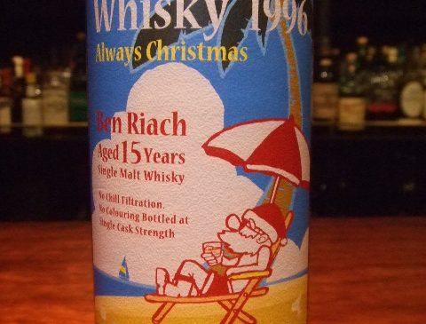 """SATOラベル """"Vacation Whisky""""ベンリアック15年 53.5%"""