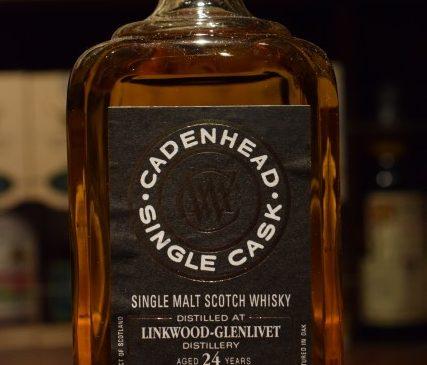 ケイデンヘッド 175周年ボトル リンクウッド24年 55.1%