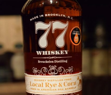 77ウイスキー ローカル・ライ&コーン 608days old 45%