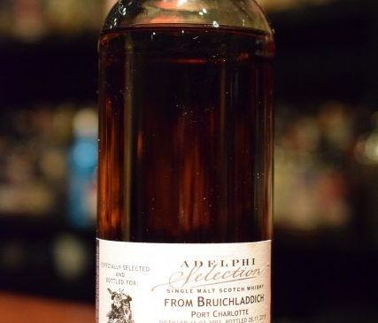 """ADELPHI  Selection  from  BRUICHLADDICH """"PORT CHARLOTTE""""  2003    57.7%"""