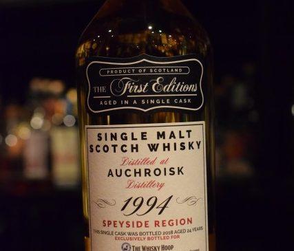 The Whisky Hoop  Auchroisk 24y  45%