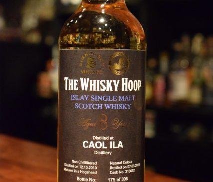 THE WHISKY HOOP  Signatory  Caolila 8y 61.0%