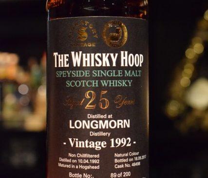 The Whisky Hoop  Signatory  LONGMORN 25y 52.2%