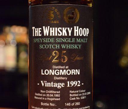 The Whisky Hoop  Signatory  LONGMORN 25y 53.3%