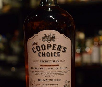 "The Cooper's Choice  Secret Islay ""Kilnaughton"" 54%"