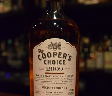 The Cooper's Choice Secret Orkney 10y 58%