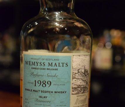 ウィームス ボウモア 1989  for FORMOSA  WHISKY  SOCIETY & The Elysian Whisky Bar   46.1%
